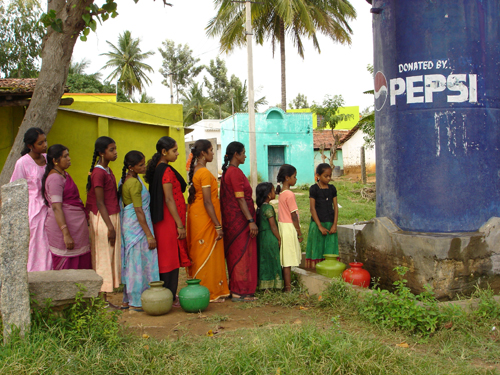PepsiCo India - Community rainwater harvesting initiative in Nelamangala. 2010: Photograph courtesy of PepsiCo.